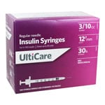 UltiCare U100 30G 0.3cc 0.5 inch Syringes 100/bx thumbnail