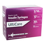 UltiCare U100 30G 0.3cc 0.5 inch Syringes 100/bx Pack of 5 thumbnail