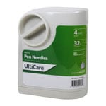 "Ulticare UltiGuard Micro Pen Needles 4mm 32g x 5/32"" 100/bx thumbnail"