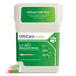 "UltiGuard UltiCare U-40 Pet Insulin Syringes 29G 1cc 1/2"" 100/bx thumbnail"