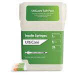 UltiGuard U-100 Syringes 31G 1cc 6mm 100 Count thumbnail