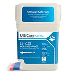 "UltiCare UltiGuard U-40 Pet Syringes 29G 1/2cc 1/2"" - Half Unit 5-Case thumbnail"
