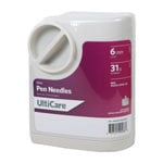 UltiGuard UltiCare Mini Pen Needles 1/4 inch 31 Gauge Box of 100