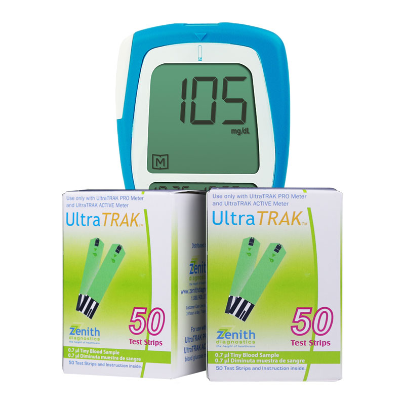 Vertex UltraTRAK PRO Meter Kit w/100 Test Strips