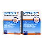 UniStrip 1 24850 Blood Glucose Test Strips 50/bx Case of 12 thumbnail