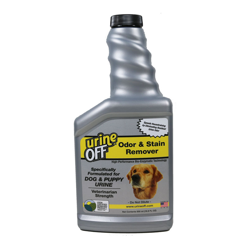 Urine Off Dog & Puppy Stain & Odor Remover - 500ml