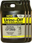 Urine Off Odor and Stain Remover for Cats - 1 Gallon Pack of 3 thumbnail