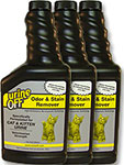 Urine Off Odor and Stain Remover for Cats - 500ml Pack of 3