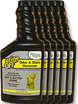Urine Off Odor and Stain Remover for Cats - 500ml Pack of 6