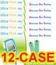 Vertex UltraTRAK Glucose Test Strips 50/bx Case of 12