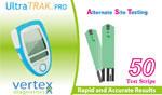 Vertex UltraTRAK Glucose Test Strips 50/bx