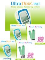 Vertex UltraTRAK PRO Meter Kit w/100 Test Strips
