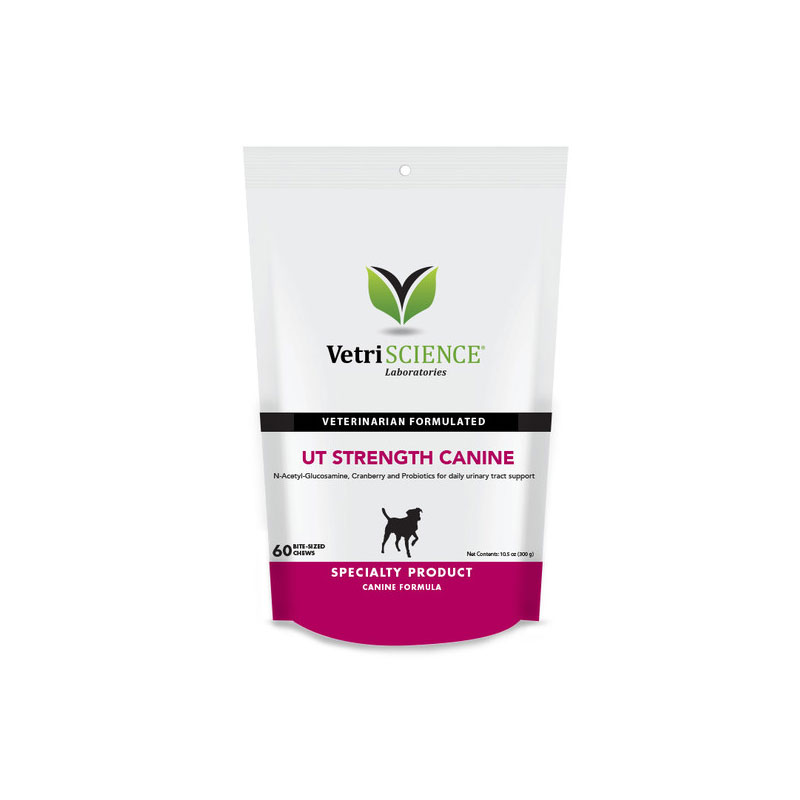 VetriScience Canine UT Strength Bite Sized Chews 60ct
