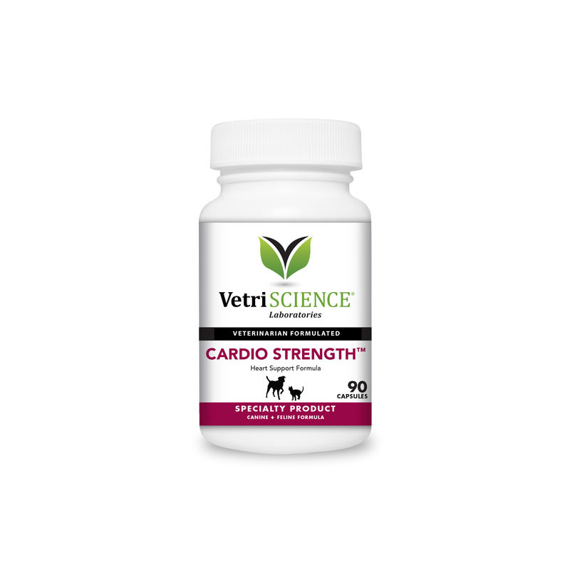 VetriScience Cardio Strength For Cats & Dogs 90ct Pack of 3