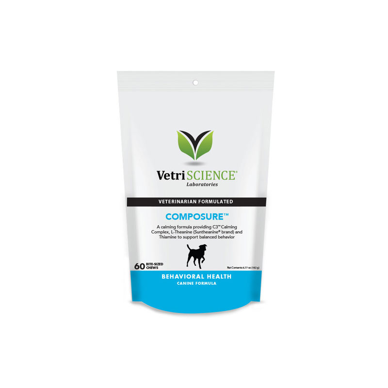 VetriScience Composure Bite Sized Chews For Dogs 60ct Pack of 3