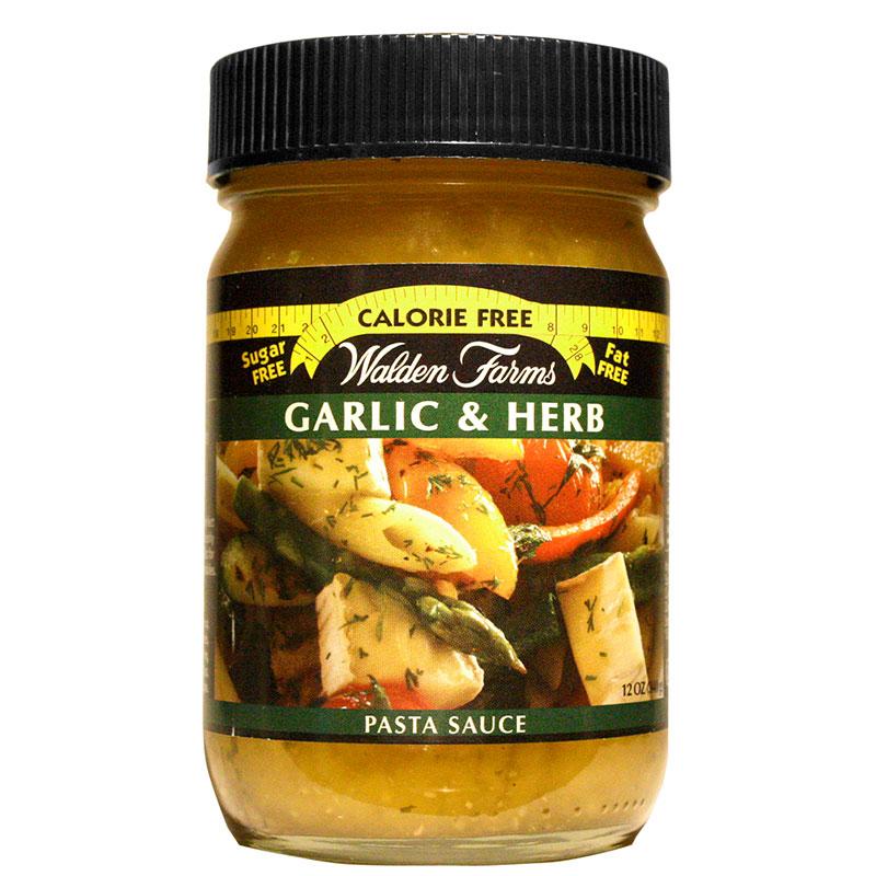 Walden Farms Garlic & Herb Pasta Sauce 12 oz 6-Pack