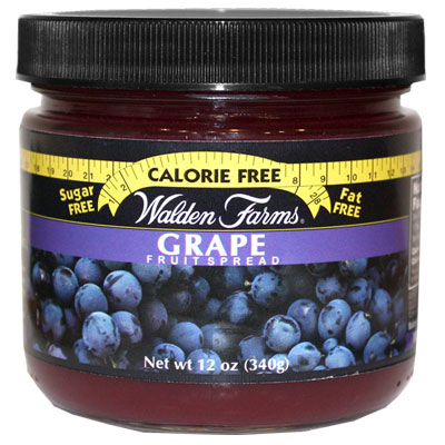 Walden Farms Grape Fruit Spread 12oz 6-Pack