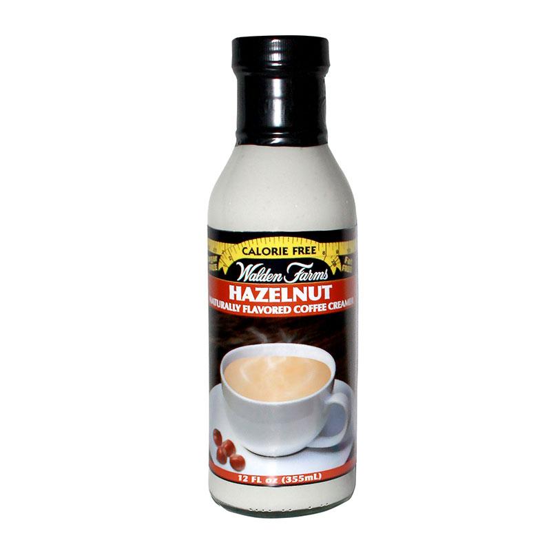 Walden Farms Hazelnut Flavored Coffee Creamer 12oz 6 pack
