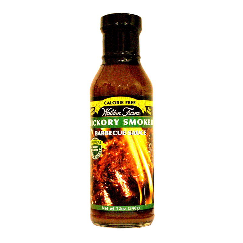 Walden Farms Hickory Smoked Barbeque Sauce 12oz 6-Pack