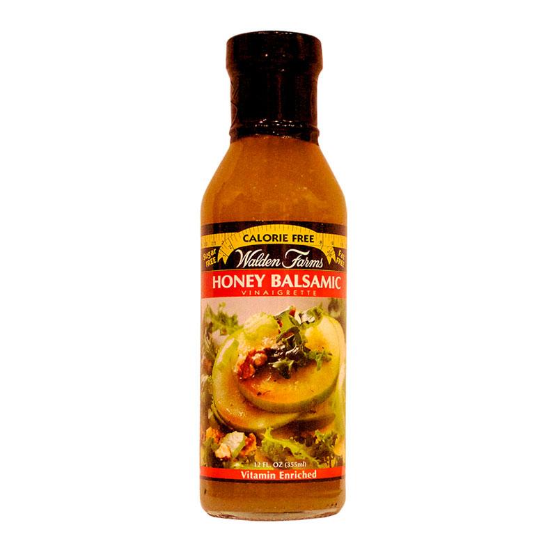 Walden Farms Honey Balsamic Vinaigrette Salad Dressing 12oz 6-Pack