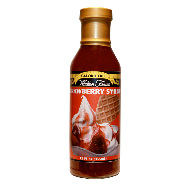 Walden Farms Strawberry Syrup 12oz 6-Pack