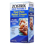 Zostrix HP Foot Pain Relief Cream 2oz tube